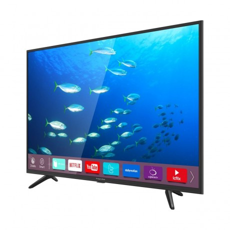 "Televízor Kruger&Matz 43"" (109cm) UHD, DVB-T2/C/S2 smart"