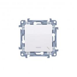Vypínač Simon 10 č.6 LED podsv. modul