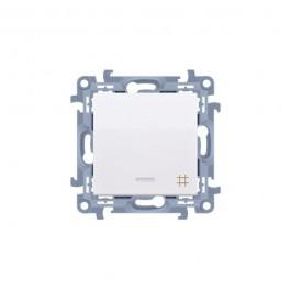 Vypínač Simon 10 č.7 LED podsv. modul