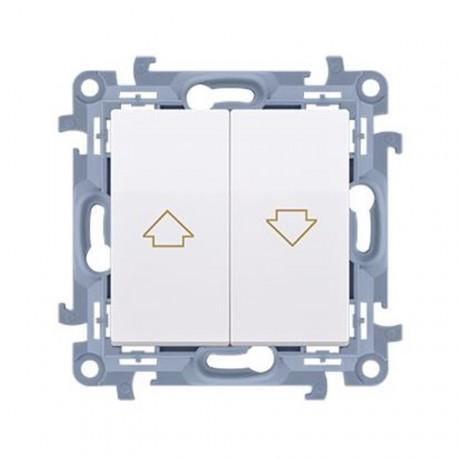 Tlačidlo jednoduché žalúziové Simon 10 modul